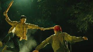 Боевая сцена, Дэн Чупонг против двух бандитов