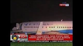 SONA: Xiamen Air flight MF 8667, ilang minuto munang nagpaikot-ikot sa ere bago sumadsad sa runway