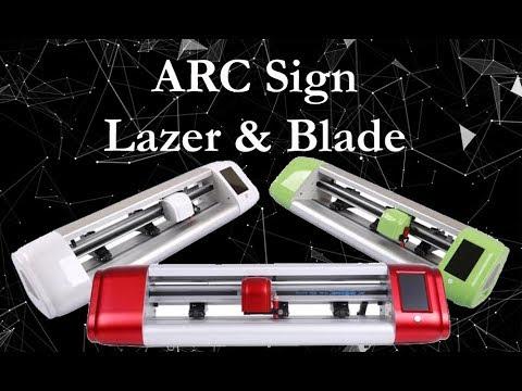 ARC Sign Vinyl Cutting Plotter Machine