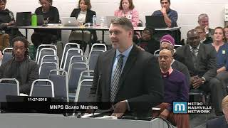 11/27/18 MNPS Board Meeting