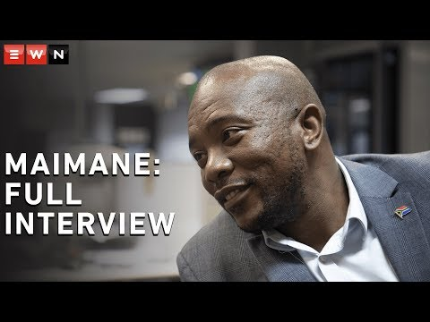 FULL INTERVIEW: EWN sits down with Mmusi Maimane
