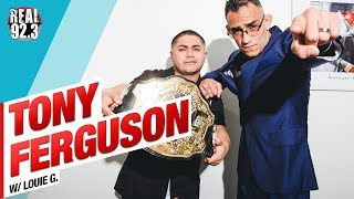 "Tony ""El Cucuy"" Ferguson talks Khabib and UFC 223"