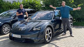 I Take Misha For A Lap Of The Nürburgring And Discuss The Challenges Of EVs On Track!