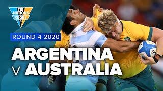 Tri Nations 2020 | Argentina v Australia - Rd 4 Highlights