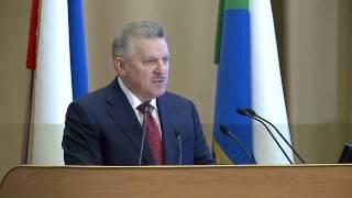 Вячеслав Шпорт выступил с ежегодным Инвестиционным Посланием