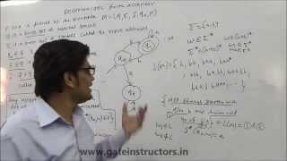 Deterministic Finite Automata DFA Construction with Examples and Solution | Automata Theory | 013