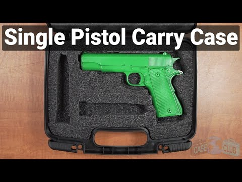 Single Pistol Carry Case - Featured Youtube Video