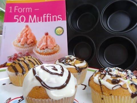"""""""MUFFIN BASIC TEIG SELBER MACHEN"""" -Ideal für die 12er Muffins Backform + Buch"""