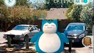 Amazing Pokémon GO Catch!! 1190CP Snorlax!! Pokémon GO Live Stream Replay