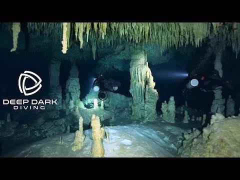 DPV Cave dive in Cenotes - Yucatan - Mexico