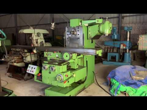 Induma NL63 Universal Milling Machine