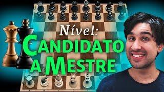 Enfrentando O Nível Candidato A Mestre No Desafio Do App Xadrez!