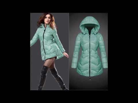 Mint green winter jacket
