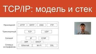 """Модель и стек протоколов TCP/IP   Курс """"Компьютерные сети"""""""