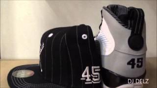Air Jordan Birmingham Barons 9 Sneaker With Snapback #HotOrNot With @DjDelz