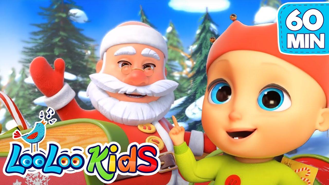 Christmas Songs For KIDS Deck the HALLS LooLoo KIDS Nursery Rhymes and Baby Songs