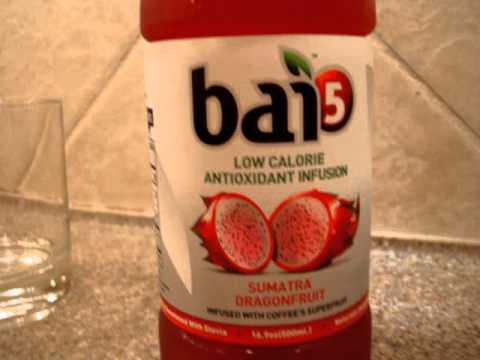 Antioxidant Energy Drink Bai Sumatra Dragonfruit