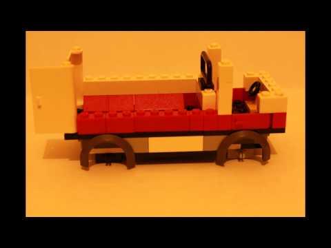 Сборка самодельной скорой помощи из лего