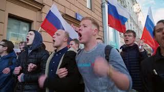 Против Путина: от Пушкинской до Манежной. Акция 7 октября в Москве