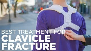 How to Treat a Broken Collarbone with a Clavicle Brace