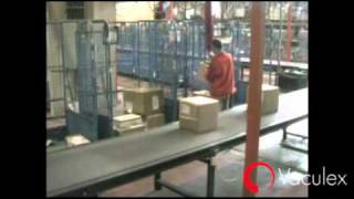 Parcel handling at TNT - with Vaculex TP