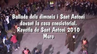 preview picture of video 'Ball dels dimonis i sant Antoni 2010.avi'