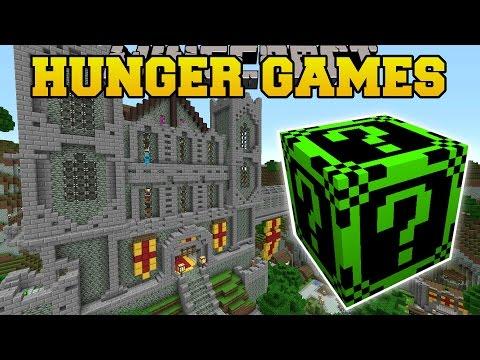 Minecraft: FALLEN KINGDOM HUNGER GAMES - Lucky Block Mod - Mod