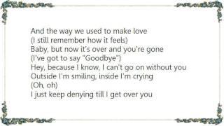 Brian McKnight - Til I Get Over You Lyrics