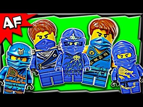 Lego Ninjago Jay BLUE NINJA Minifigures Complete Collection