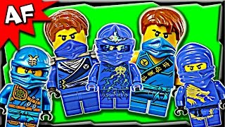 Lego Ninjago Jay BLUE NINJA Minifigures Complete Collection