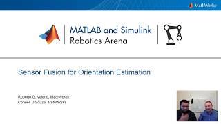 Sensor Fusion for Orientation Estimation - MATLAB and Simulink Robotics Arena