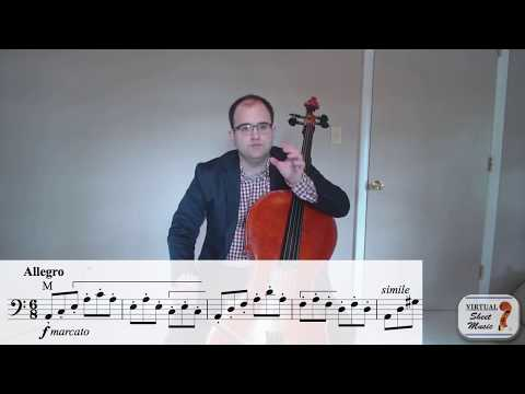 Accents on the cello