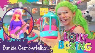 Lollyboxing 22 - Barbie Cestovatelka