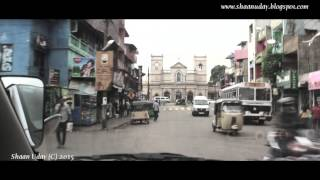 preview picture of video 'Day Driving in Colombo, Sri Lanka - Jan 2015'