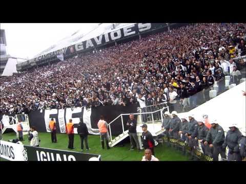 Veja a festa da Fiel durante o clássico contra o Palmeiras