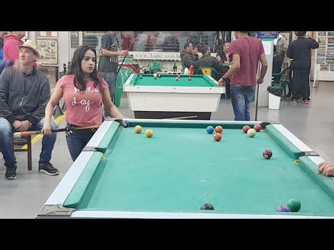 NEIA X BRUSQUE - Torneio De Sinuca Do Paraguai - CAMBORIÚ SC