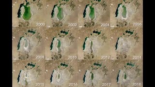 World of Change: the Shrinking Aral Sea