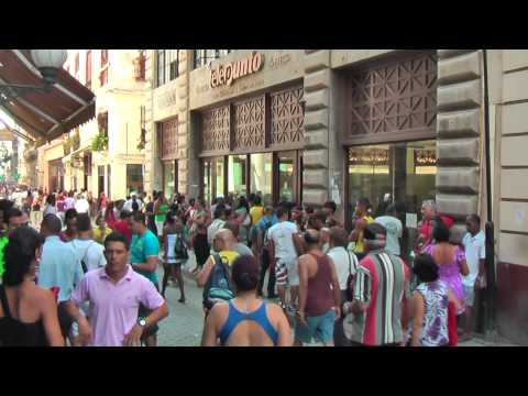 Calle Obispo is the number one shopping street in Havana Vieja