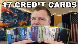 I Have 17 Credit Cards And A $157,400 Limit - Here Is Why