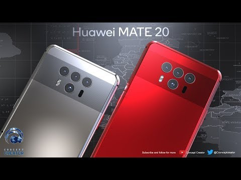 Come ve lo immaginate un Huawei Mate 20 con 4 fotocamere?