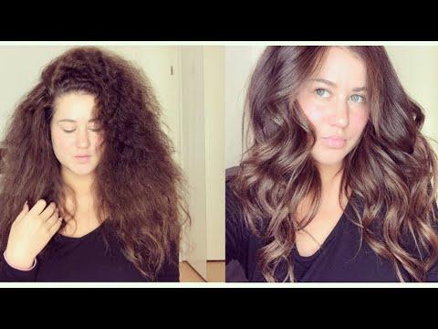#Videowunsch3 Haarpflege Routine vom Stroh trockenem Haar zum seidig glänzendem Look I Marina Si