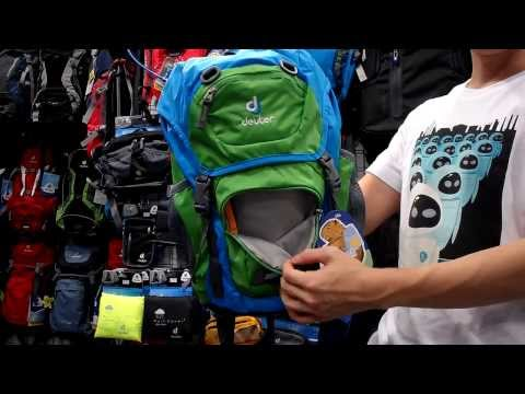 Видео о Рюкзак Deuter JUNIOR 3080 ocean