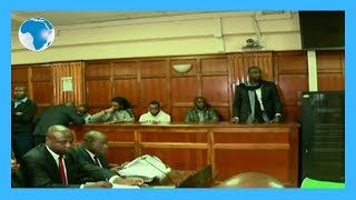 LIVE: Echesa in court over fake firearms deal
