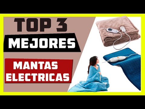 🥇Mejores MANTAS ELECTRICAS [ Top 3 calidad precio ]🔥 DICIEMBRE 2020