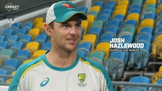Hazlewood looks back on his best caught and bowleds | West Indies v Australia 2021