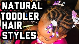 SUPER EASY PROTECTIVE HAIR STYLE FOR SHORT HAIR| TODDLER HAIRSTYLES| BLACK KID HAIR STYLES