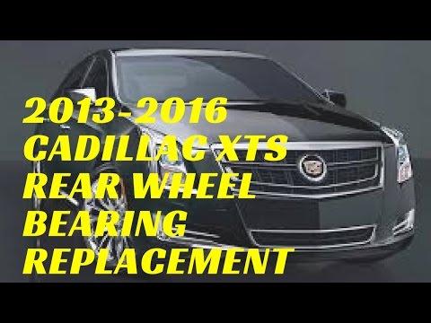 2013-2016 Cadillac XTS Rear Wheel Hub Bearing Replacement