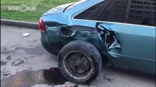 В Челнах внедорожник протаранил 10 автомобилей - водитель оказался пьян