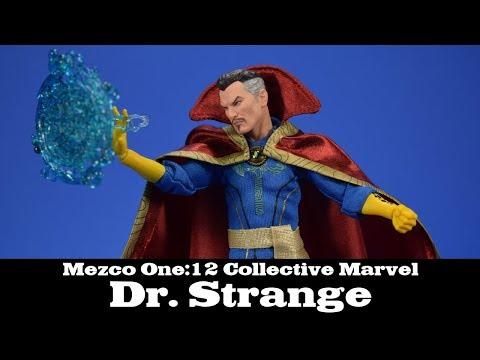 Dr. Strange Mezco One:12 Collective Marvel Action Figure Review