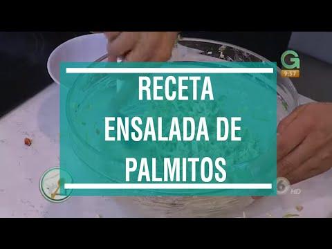 ¡Irresistible ensalada de palmitos!